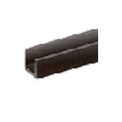 Rubber U-profiel 6x3x1 mm